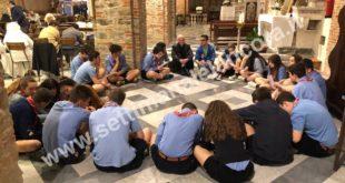 Il Vescovo mons. Testore ad Ovada in mezzo ai giovani
