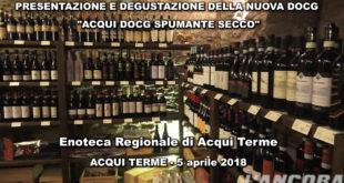 """video - Acqui Terme - Presentazione """"Acqui docg spumante secco"""""""