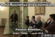 """Inaugurazione della mostra """"Dalla Resistenza alla Costituzione"""" (VIDEO)"""