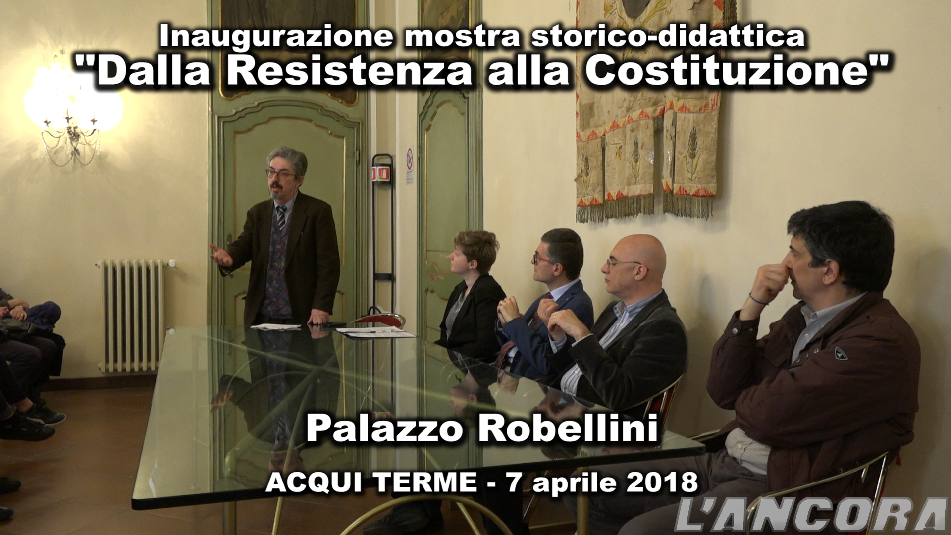 """Video mostra """"Dalla Resistenza alla Costituzione"""""""