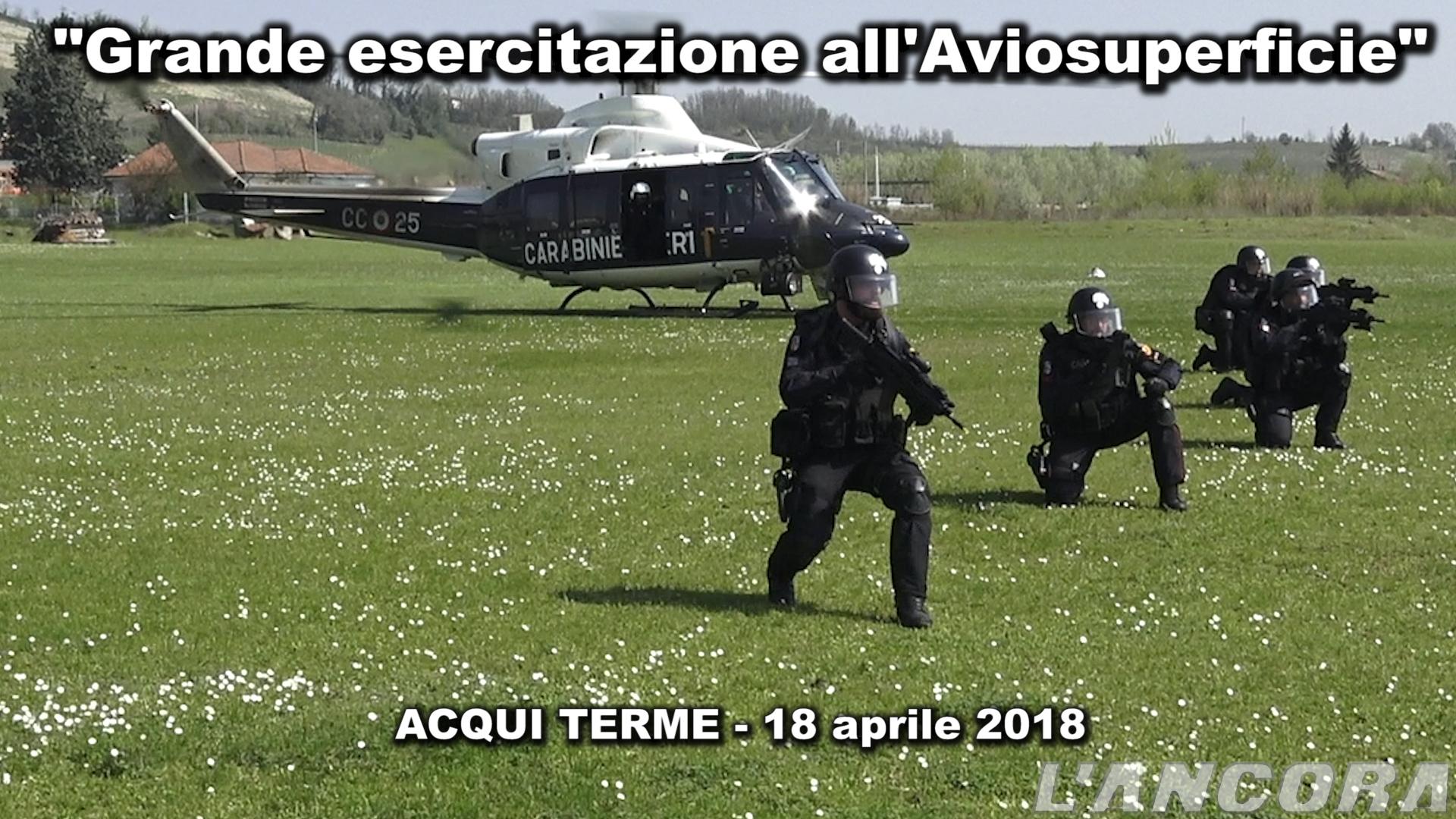Video esercitazione carabinieri