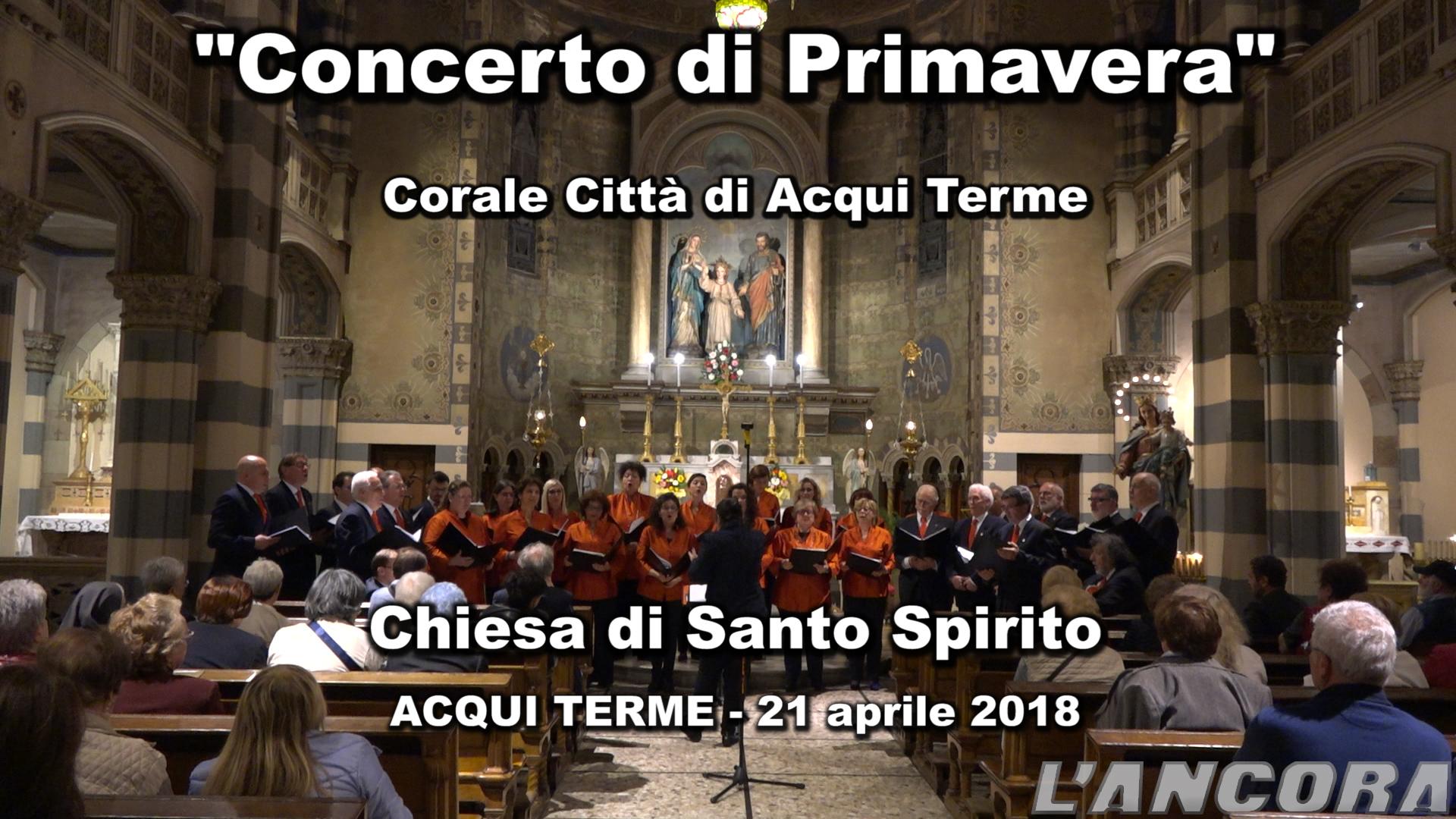 Video del concerto di Primavera