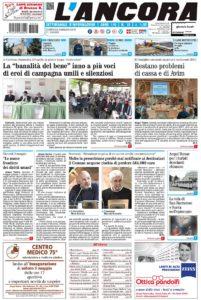 prima pagina L'Ancora n.18/2018