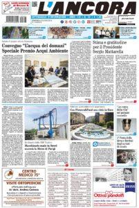 prima pagina L'Ancora n.22/2018