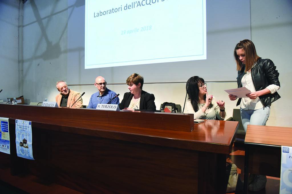 Presentazione dei lavori dei Laboratori di Lettura