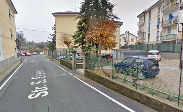 Ovada strada Sant'Evasio