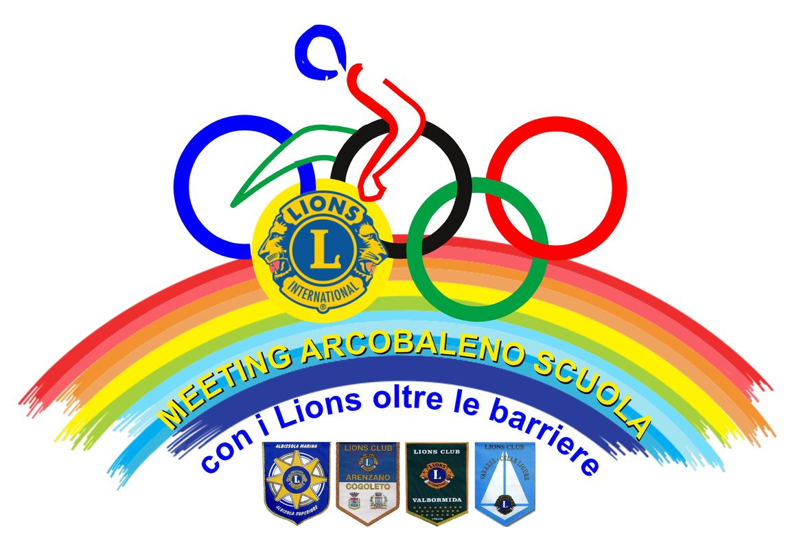 Photo of Meeting arcobaleno scuola 2018, con i Lions oltre le barriere