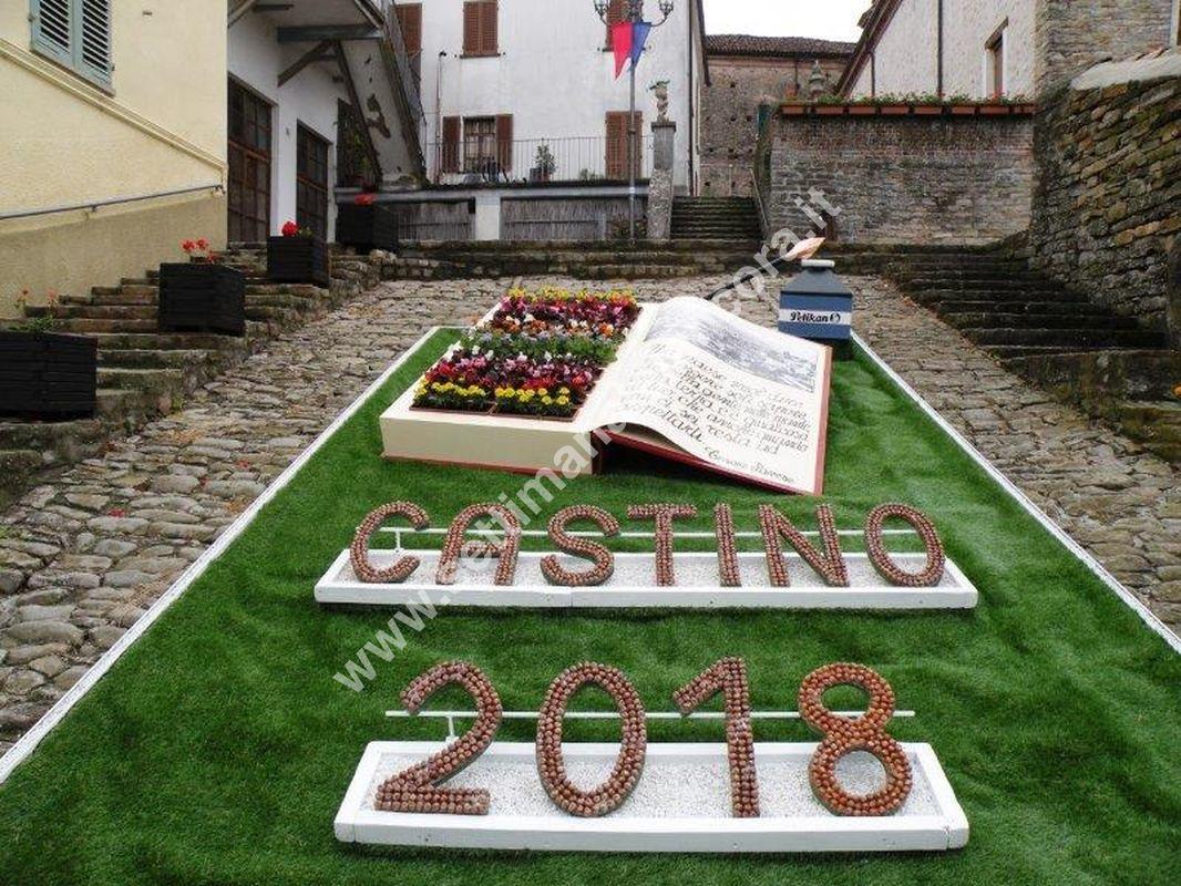 Castino, festa del fiore 2018