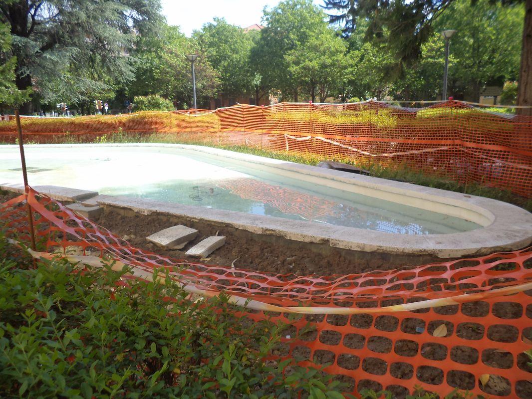 Ovada, nuova fontana di corso Martiri della Libertà