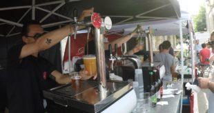 fiera della birra e artisti di strada