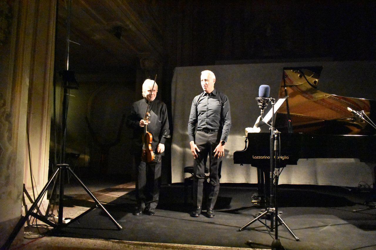 In Acqui Terme, concerto del duo violino e pianoforte