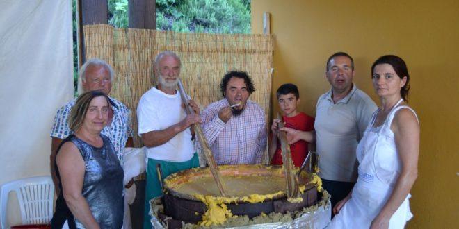 A Cassinasco Sagra del polentone e 2º motoincontro