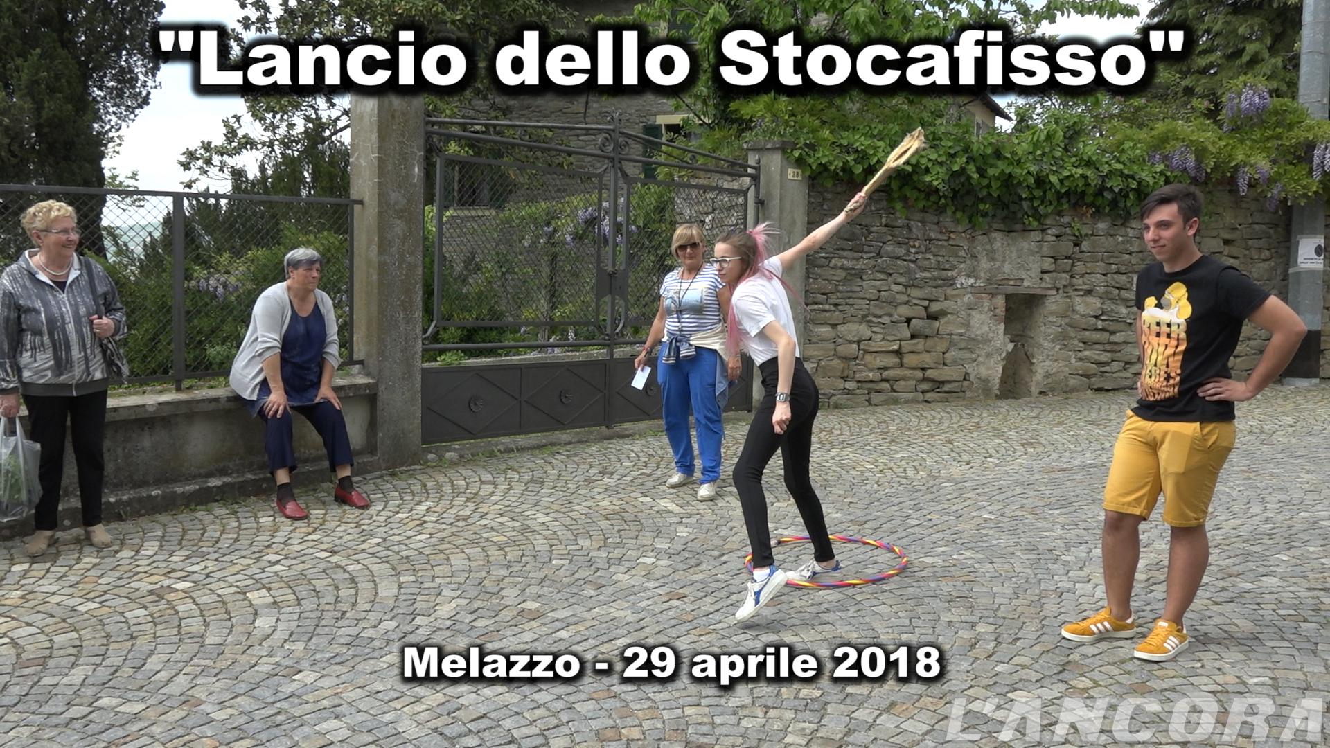 Melazzo - Lancio dello stocafisso 2018 (VIDEO)