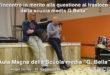 """""""Incontro in merito alla questione del trasloco della scuola media G.Bella"""" (VIDEO)"""