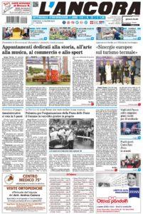 prima pagina L'Ancora n.23/2018