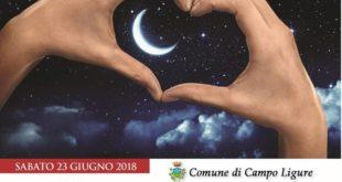 """Locandina """"Notte romantica"""" a Campo"""