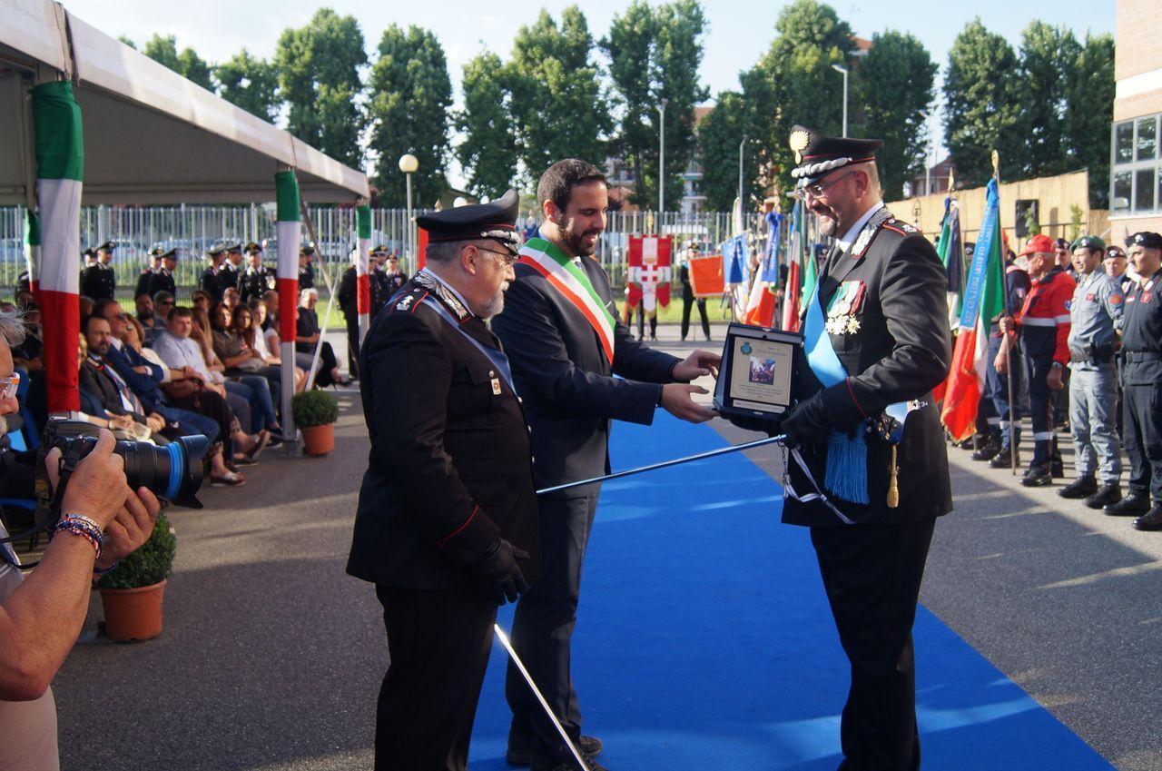 Elogio e premio al magg. Lorenzo Carlo Maria Repetto