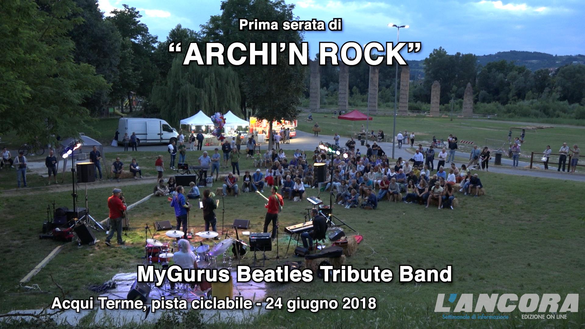 ARCHI'N ROCK prima serata video