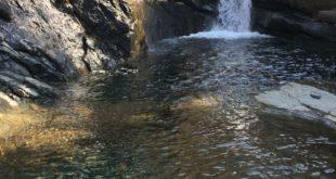 Piccola cascata Parco del Beigua