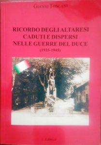 Libro di Gianni Toscani ad Altare