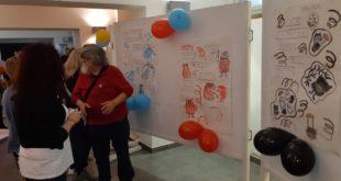esposizione lavori degli studenti del Laboratorio istituto Patetta