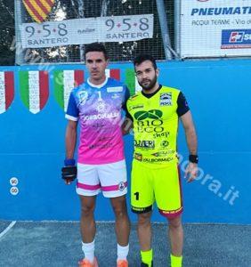Pallapugno: Bruno Campagno e Andrea Pettavino