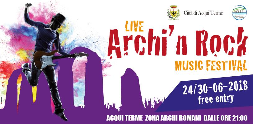 "locandina concerti ""Archi'n Rock"""