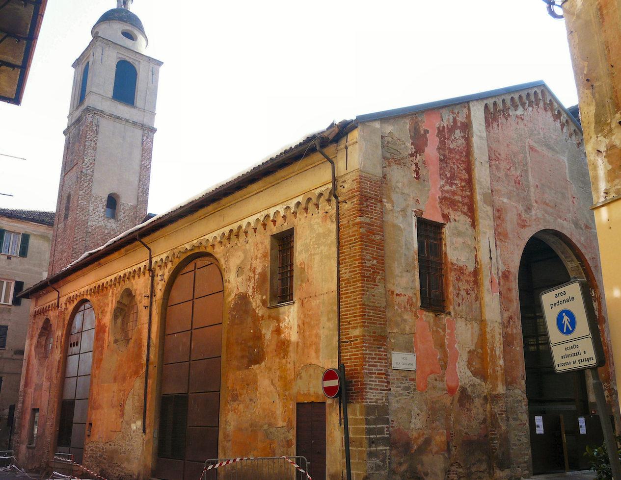 Ovada, Loggia di San Sebastiano