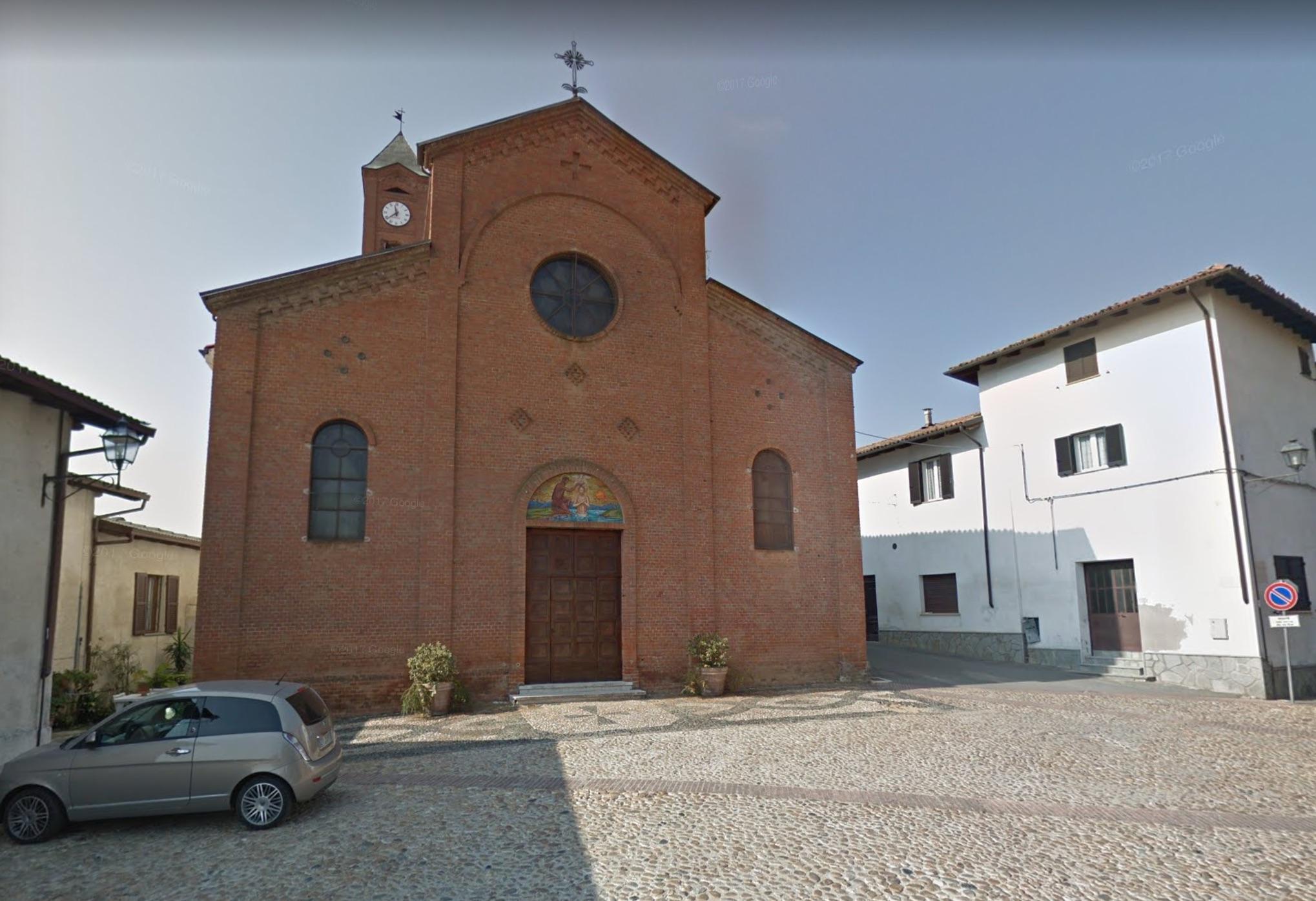 Maranzana, la chiesa parrocchiale