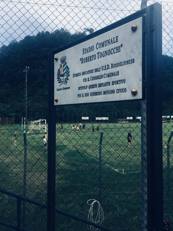 Photo of Rossiglione: il campo intitolato a Tognocchi