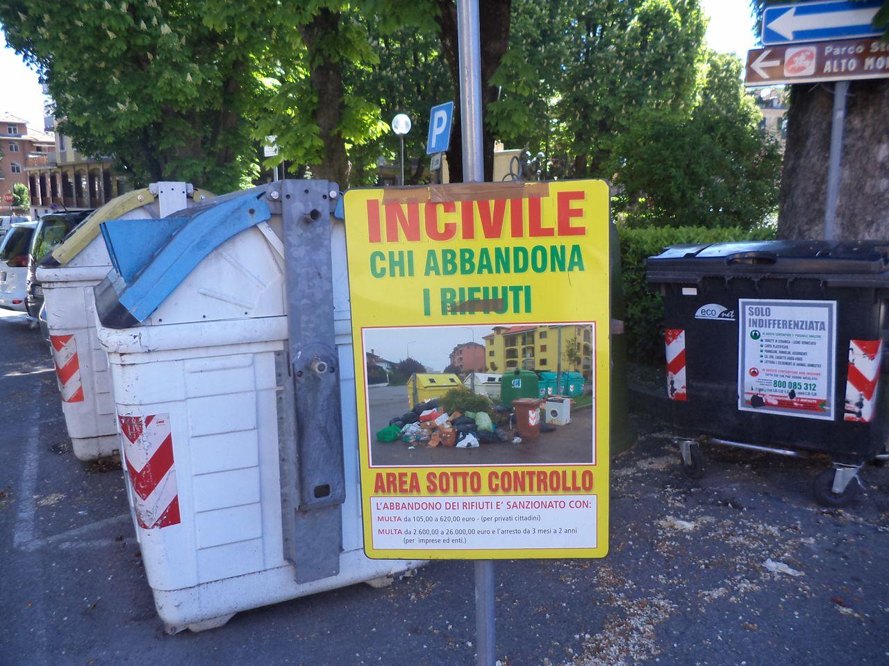 Incontri sulla raccolta differenziata dei rifiuti