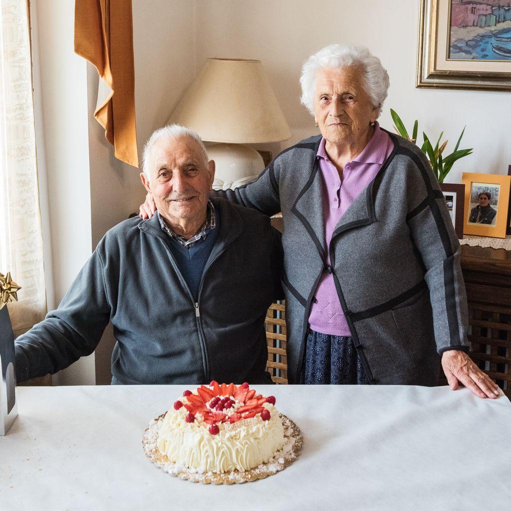 Montechiaro d'Acqui, nonno Carlo ha compiuto 99 anni