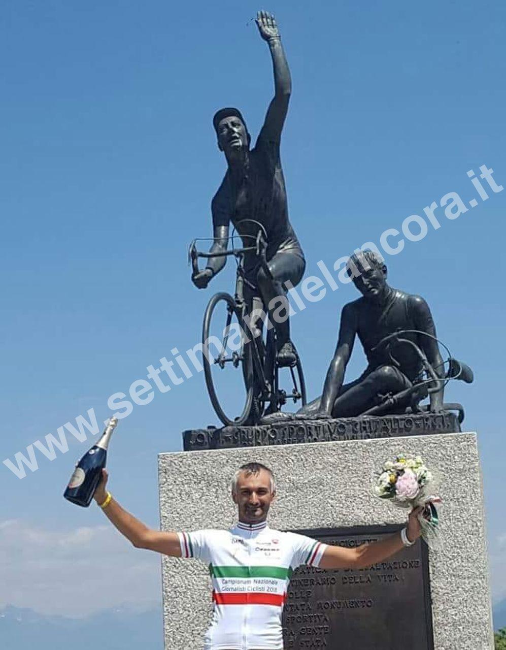 Giornalisti ciclisti: Perazzi ancora campione