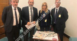Delegazione Fisc incontra sottosegretario Crimi