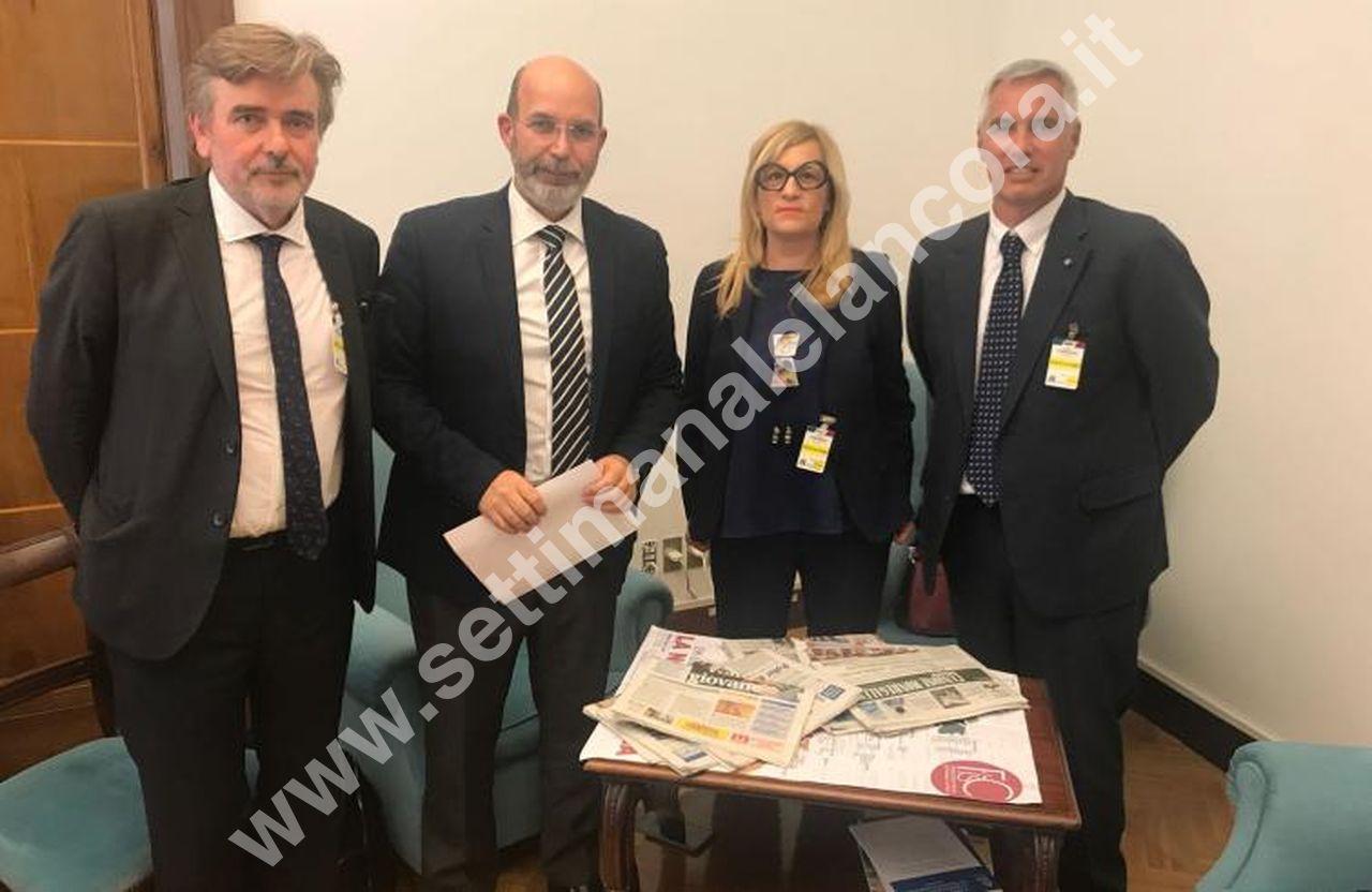 Photo of Delegazione Fisc incontra sottosegretario Crimi