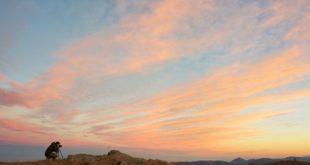 Parco del Beigua: tramonto ad alta quota
