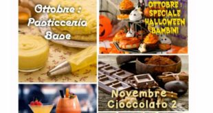 Locandina programma corso di cucina a Sezzadio