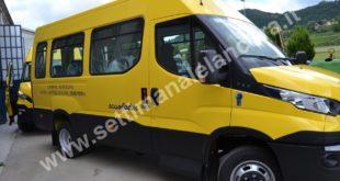 Bubbio Unione Montana Langa nuovi scuolabus