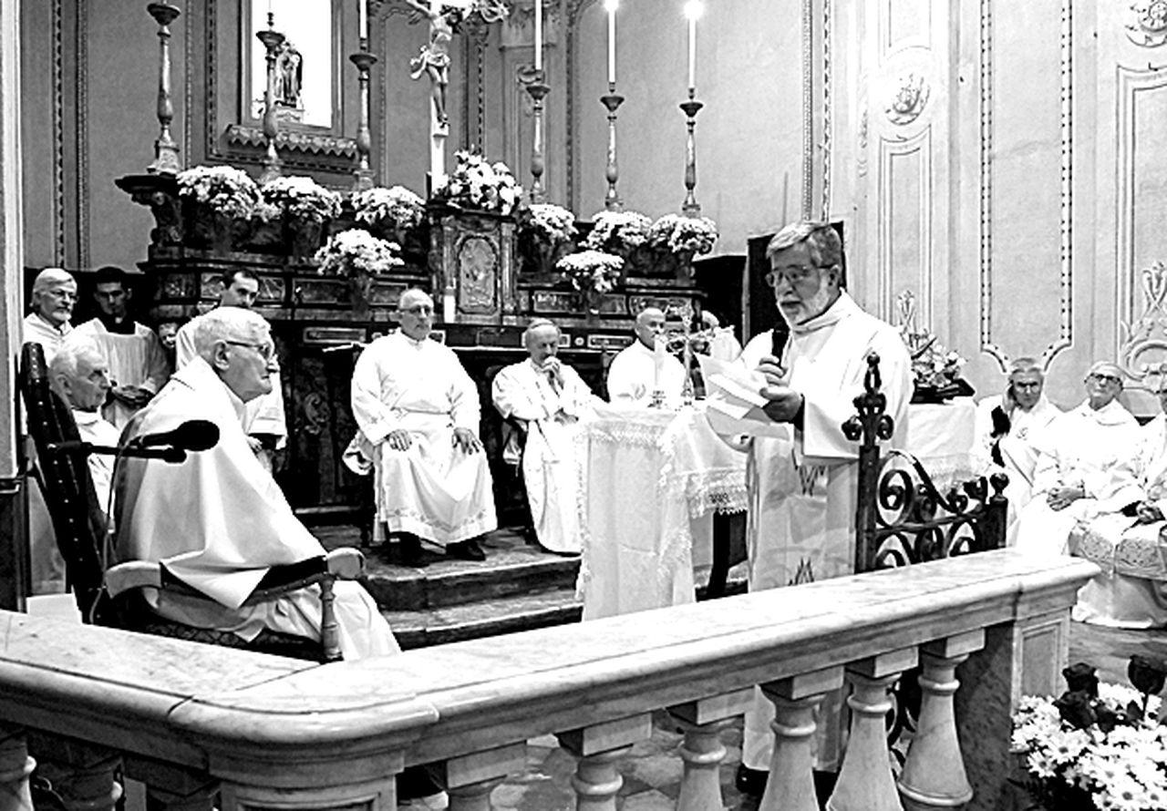 Anniversario ordinazione sacerdotale mons. Giovanni Galliano