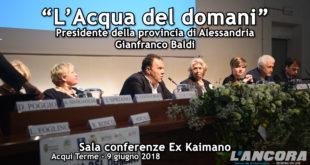 """""""L'Acqua del Domani"""" Intervento di Gianfranco Baldi (VIDEO)"""