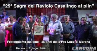 Merana - XXV Sagra del Raviolo Casalingo al plin (Video)