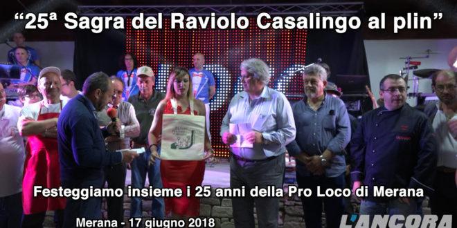 Merana: XXV Sagra del Raviolo Casalingo al plin (Video)