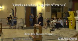 Assemblea cittadina - La raccolta differenziata (VIDEO) Terza parte