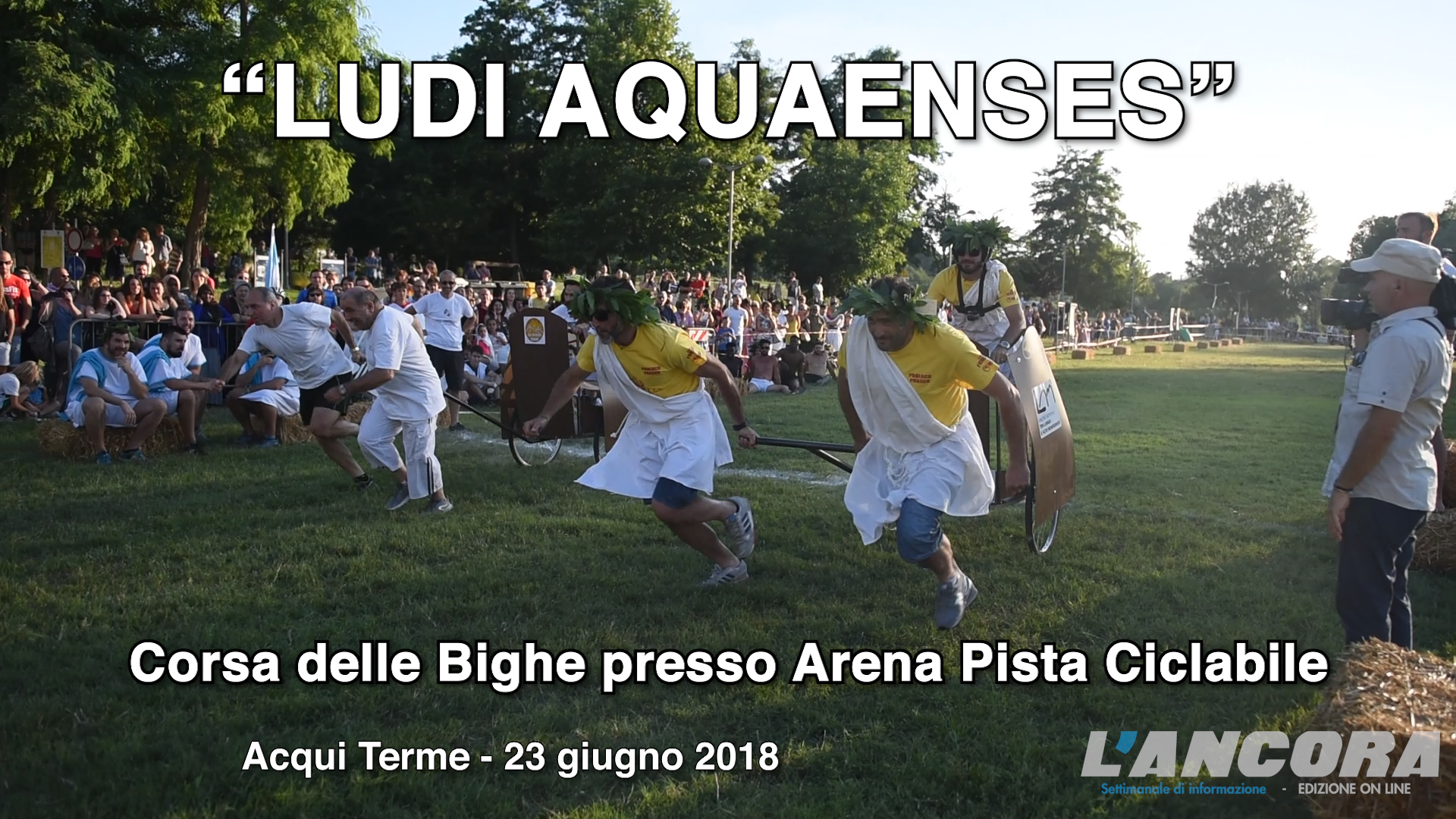 LUDI AQUAENSES - La Corsa delle Bighe (VIDEO)