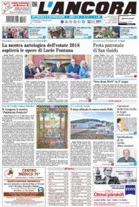 prima pagina n.27/2018