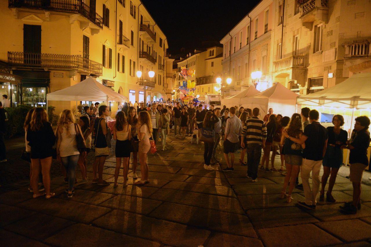 Corso centrale Acqui Terme