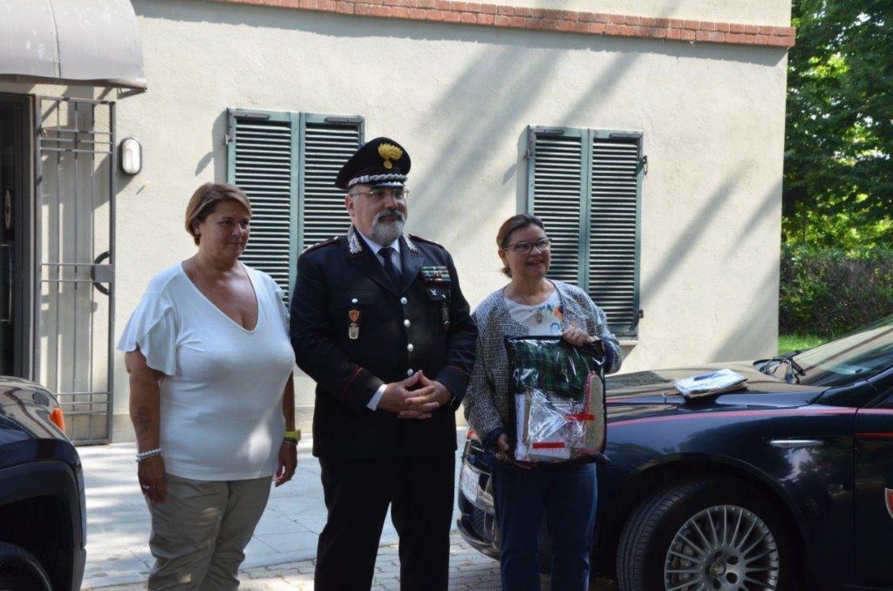 """Consegnati """"Kit della Dignità"""" al Comando Proviciale dei Carabinieri di Asti"""