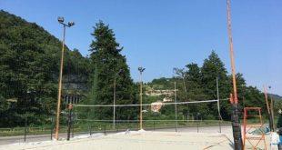 Cengio: di nuovo agibile il campo di beach volley