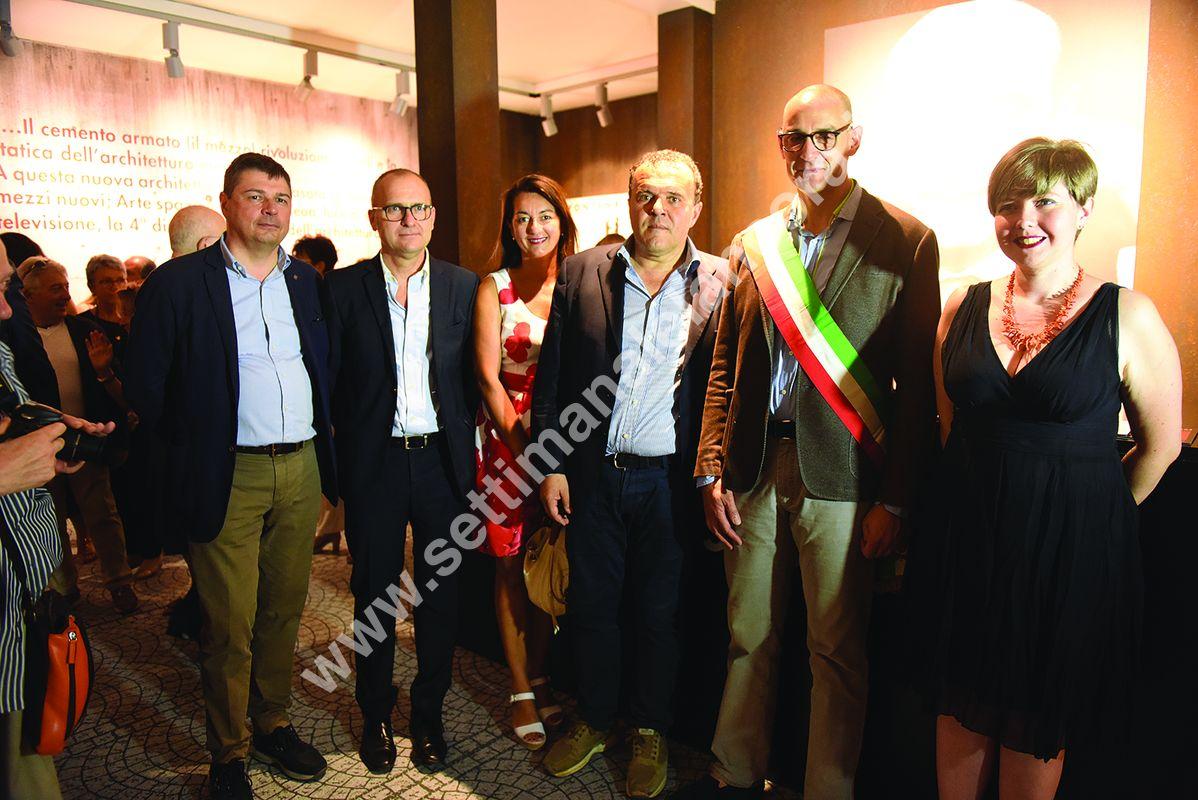 Luca Rossi, Valter Ottria, Nuria Mignone, Gianfanco Baldi, Lorenzo Lucchini e Alessandra Terzolo