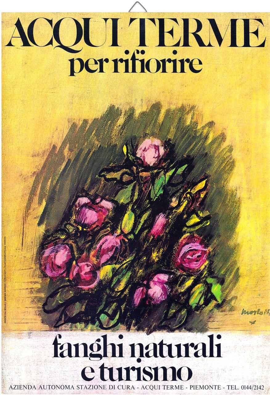 "Locandina mostra ""Acqui terme per fiorire"""